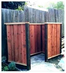 hide trash can outside hide trash can how to garbage cans outside your minute hiding enclosure steps lattice gar hide trash can hide trash bin