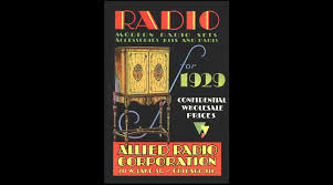 first allied corporation 1929 allied radio the first allied catalog youtube