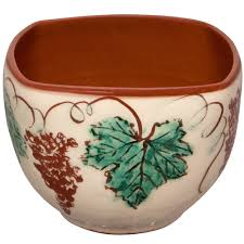 Decorative Bowls For Tables Decorative Bowls for Coffee Tables Hand Painted Grapevine 34