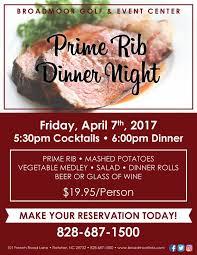 prime rib dinner flyer. Plain Rib 840 AM  17 Mar 2017 In Prime Rib Dinner Flyer E