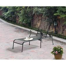black wrought iron patio furniture. simple iron mainstays jefferson wrought iron chaise lounge black in patio furniture