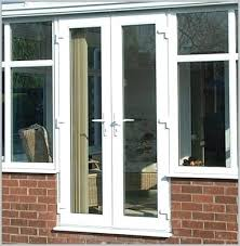 my sliding glass door with french doors replace
