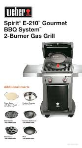 outdoor gourmet griddle spirit e 2 burner propane gas grill featuring the gourmet system the home depot outdoor gourmet 36 griddle cover