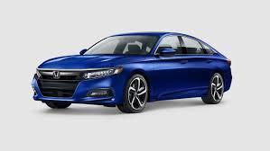 2018 Honda Accord Exterior Paint Color Options