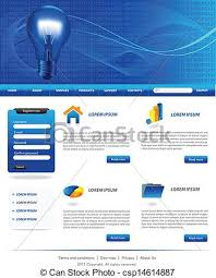 Artist Website Templates Gorgeous Dark Blue Website Templates