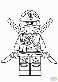 Lego Ninjago Green Ninja Super Coloring For Ninjago Coloring Pages