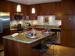 High Quality L Shaped Kitchen Design With Island And French Country Kitchen Design Ideas  By Means Of Placing Some Decorations For Your Kitchen In Decorative Method  23 Good Looking