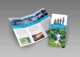 Design A Trifold Brochure In Indesign And Photoshop Part 1