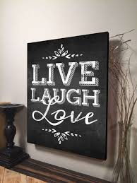 10 splendid live love laugh wall decor