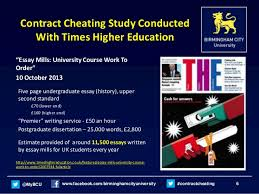 cutting the cost of custom essay writing examining the financial ma   6 contract cheating