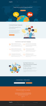 Website Html Templates Language Center Website Template 20