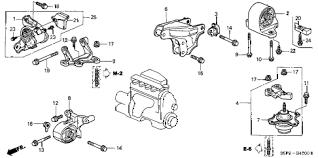 honda online store civic engine mounts mt parts 2004 civic ex 2 door 5mt engine mounts mt diagram