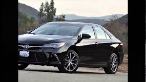 Toyota New Camry 2016 Attitude Black Mica - YouTube