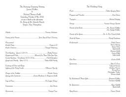 sample wedding ceremony program 100 wedding ceremony program sample event program template