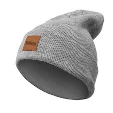 china whole plain leather patch knitted beanie hat china beanie hat
