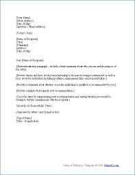 Letter Of Recommendation Sample For Immigration Rome