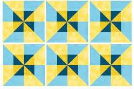Easy Framed Pinwheels Quilt Block Pattern & Learn How Simple it is to Double the Spin with These Easy Pinwheel Blocks.  Intermediate Quilting Adamdwight.com