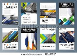 Presentation Flyers Abstract Background Geometric Shapes And Frames For