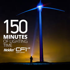 Heider Super Power Light Heider Cf1 V2 Super Power Led Flashlight Zoomable Cree