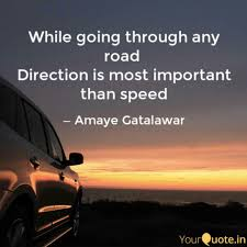 Direction Quotes Magnificent While Going Through Any R Quotes Writings By Amaye Gatalawar