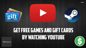 get free steam games and gift cards by watching you s
