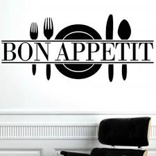 bon appetit art quote living room kitchen vinyl wall mural decal sticker on vinyl wall art quotes for kitchen with bon appetit art quote living room kitchen vinyl wall mural decal