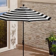 9 sunbrella black cabana stripe patio