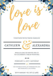 Sample Of Wedding Invatation 550 Free Wedding Invitation Templates You Can Customize