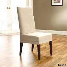 dining chair slipcovers short short dining chair slipcovers sure fit stretch pique shorty dining room chair