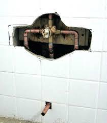 moen shower repair shower faucet handle replacement replacing a three tub with temp repair cau moen