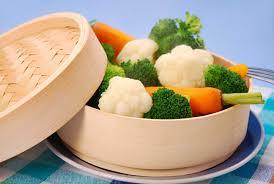 Resultado de imagen para verduras al vapor