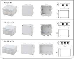 Decorative Electrical Box Cover China Supplier Electrical Outlet Box Decorative Junction Box 50