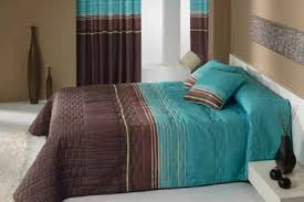 Nice Brown And Turquoise Bedroom Ideas
