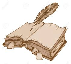 old book theme image 1 vector ilration stock vector 12482818