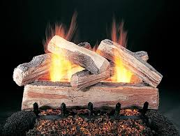 how to clean gas fireplace logs