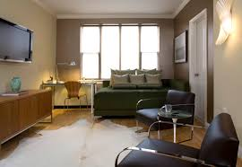 Apartment Living Room: Modern Living Room and Bedroom Apartment Design One Bedrooms  Apartments For Rent, Small Bedroom And Living Room Together, ...