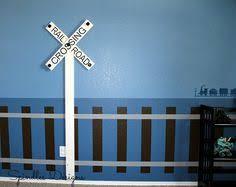Train Coat Rack Railroad crossing sign coat rack Really pulls the room together 9