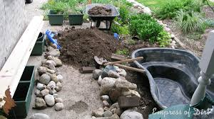 Small Picture DIY Build a Garden Pond in a Raised Bed Empress of Dirt