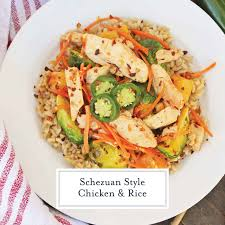 quick szechuan en and rice is an easy dinner recipe featuring en strips brussels sprouts