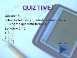 question 3 which equation is correctly written in standard form