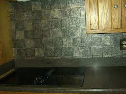 wallpaper backsplash looks like tile raised kitchen that for awesome faux dimensional really