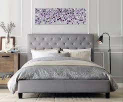 Lavender Nursery Lavender Wave By Qiqigallery 36 X 12 Original Colorful Abstract