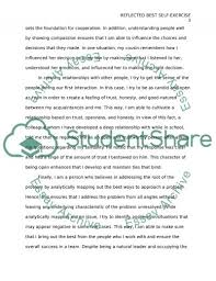reflected best self exercise essay example topics and well  reflected best self exercise essay example