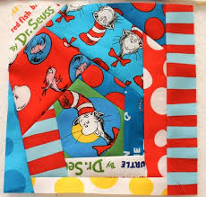 Blocks for the back of the Dr. Seuss Quilt &  Adamdwight.com