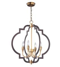 maxim 20293oiab crest 4 light 22 inch oil rubbed bronze and antique brass chandelier ceiling light
