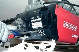 garage door opener adjust low cost adjusting craftsman garage door opener garage door opener adjustment chain