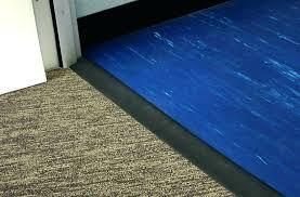 vinyl plank floor transition strips installing flooring to carpet architectures in