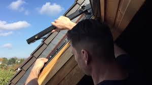 Roto 847 Klappschwing Dachfenster Flügel Aushängen Youtube