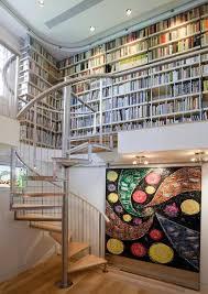 Furniture: Modern Scandinavian Home Libraries - Home Office
