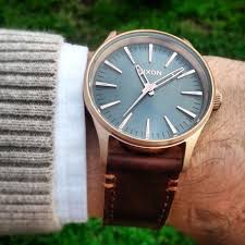 103 best images about nixon watches rose gold the sentry 38 leather by nixon gold watch